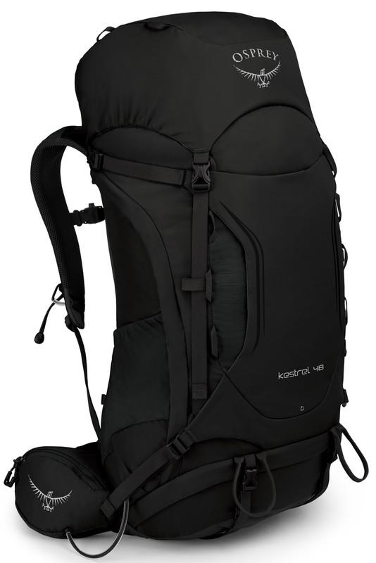 Osprey KESTREL 48 II black M/L