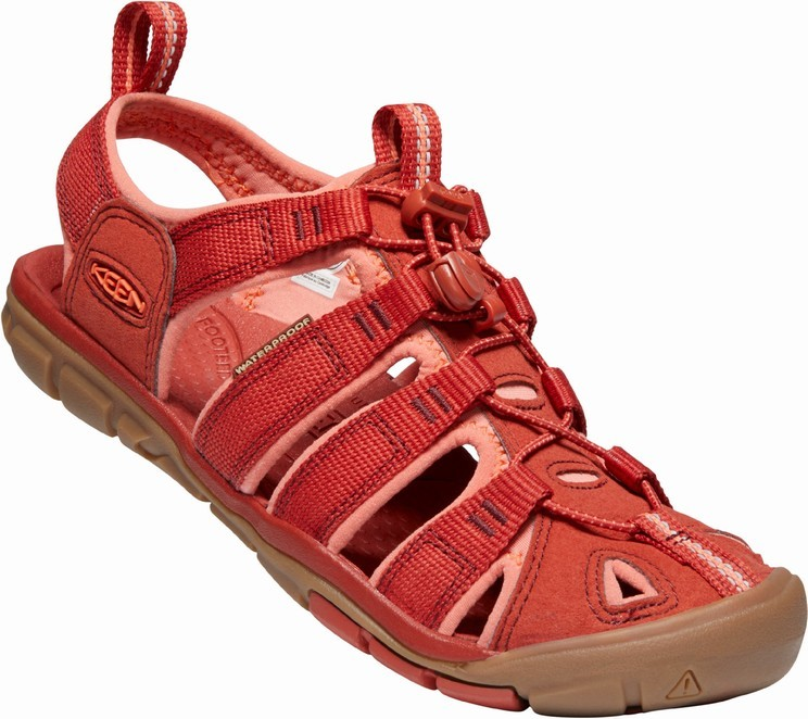 Keen CLEARWATER CNX W dark red/coral