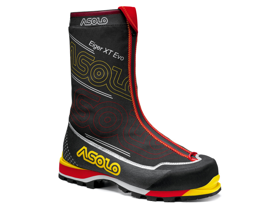 Asolo Eiger XT EVO GV black/red