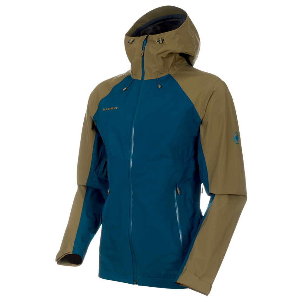 Mammut Convey Tour HS Hooded Jacket Men(poseidon-olive)