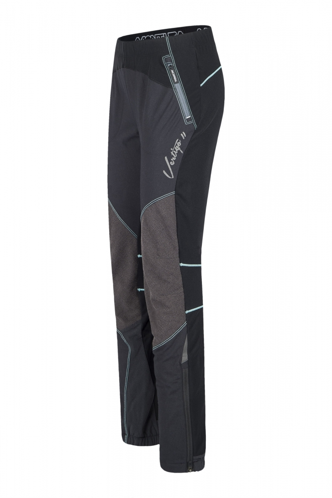 Montura Vertigo Women Pants black/icy blue
