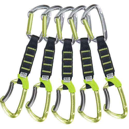 Climbing Technology Lime set NY Pro  12 cm 5 kusů