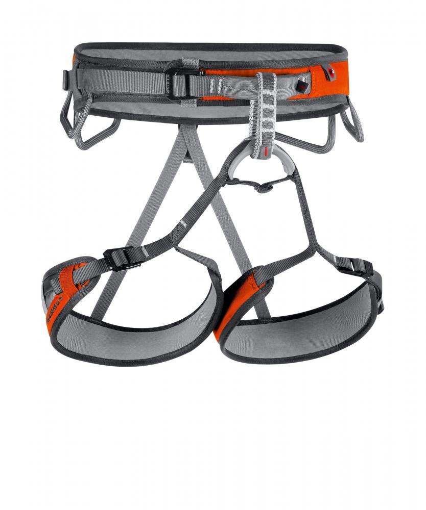 Horolezecké úvazky   Mammut Ophire 3 Slide Smoke Orange  72c4004c8ed