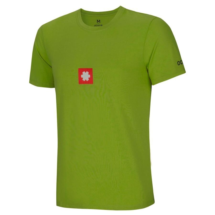Ocun Logo Tee Men pond green