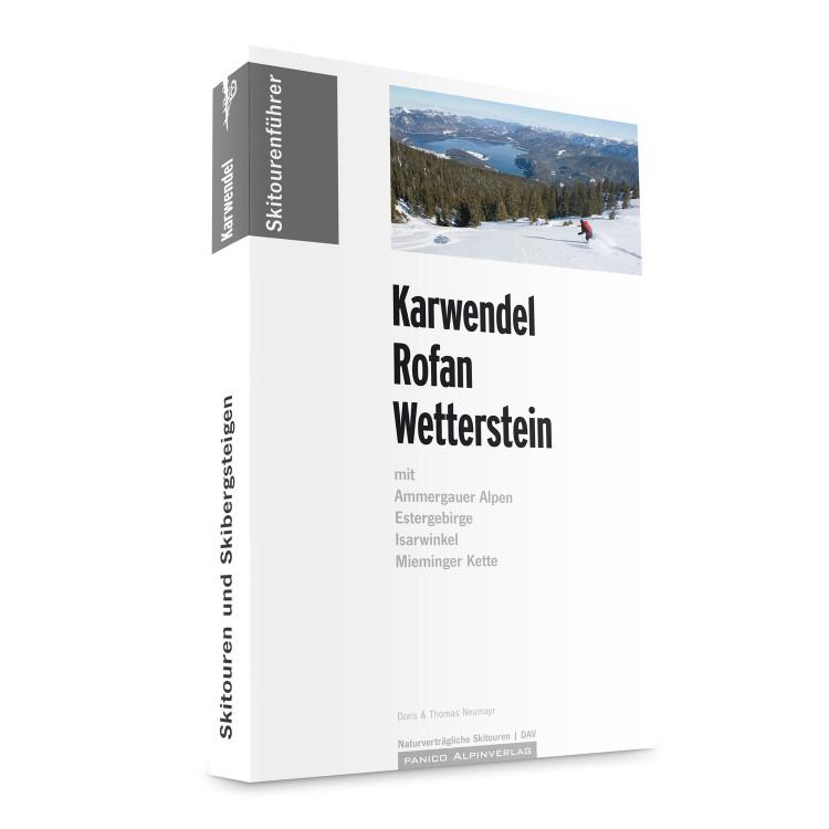 Skitourenführer Karwendel - Rofan - Wetterstein