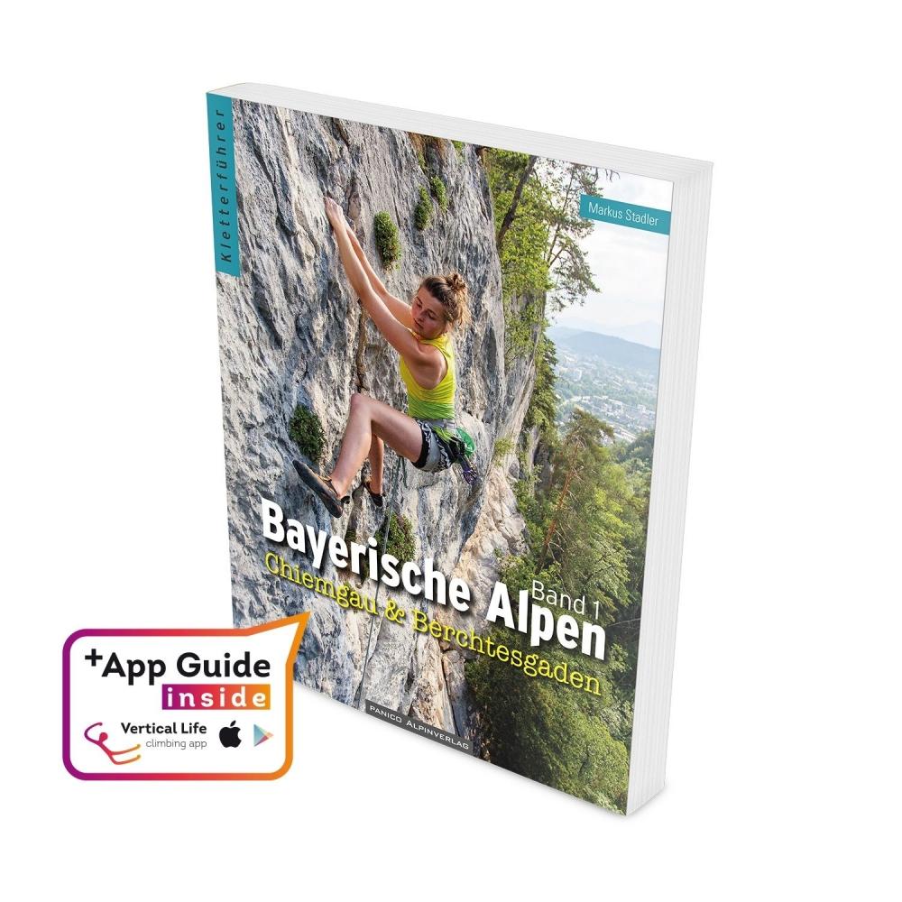 Bayerische Alpen Band 1 2019 + aplikace IOS a Android