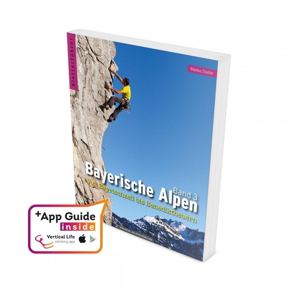 Bayerische Alpen Band 3 2021 + aplikace IOS a Android