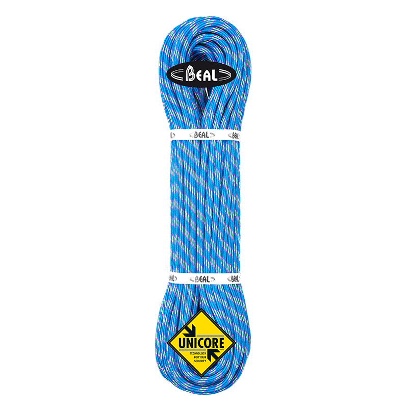 Beal Ice Line 8,1mm UNICORE Dry Cover modrá