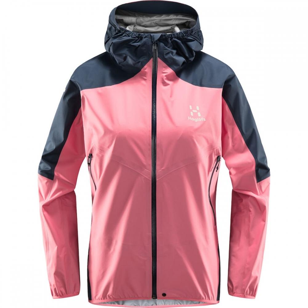 Haglöfs L.I.M Comp Jacket Women Tulip Pink/Tarn Blue
