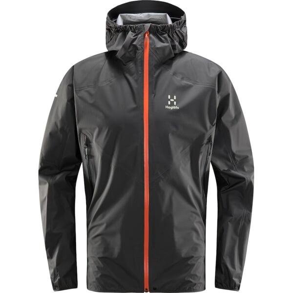 Haglöfs L.I.M Comp Jacket Men magnetite/flame orange