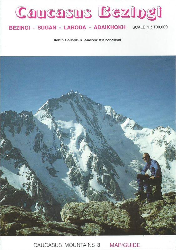 Kavkaz: Caucasus Bezingi - mapa a průvodce na treky
