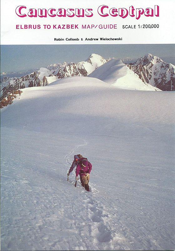 Kavkaz: Caucasus Central - mapa a průvodce na treky