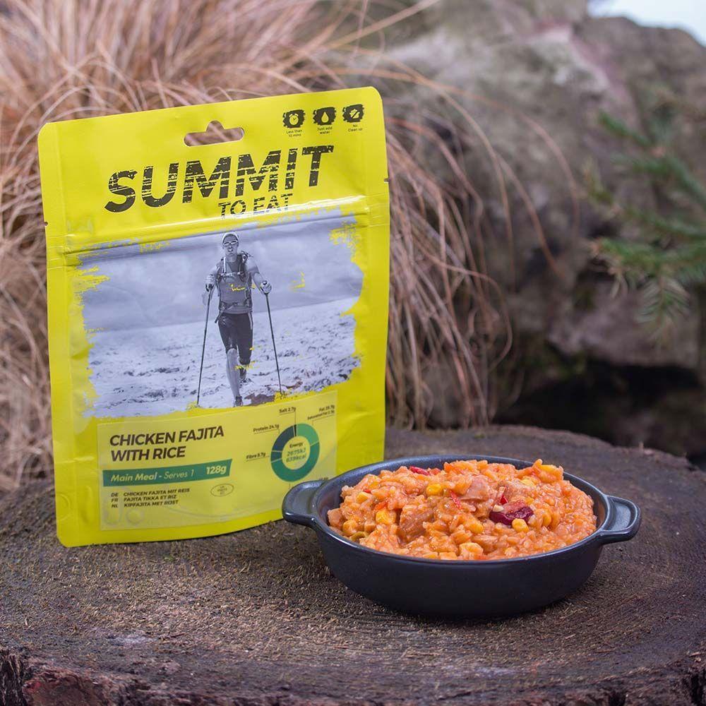 Summit To Eat Kuře Fajita s rýží | 128 g