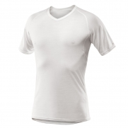 Devold Breeze Man T-Shirt V-Neck White
