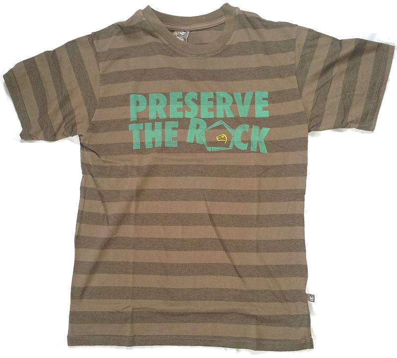 E9 PRESERVE13 sportovní tričko pánské| barva WALLNUT vel. L