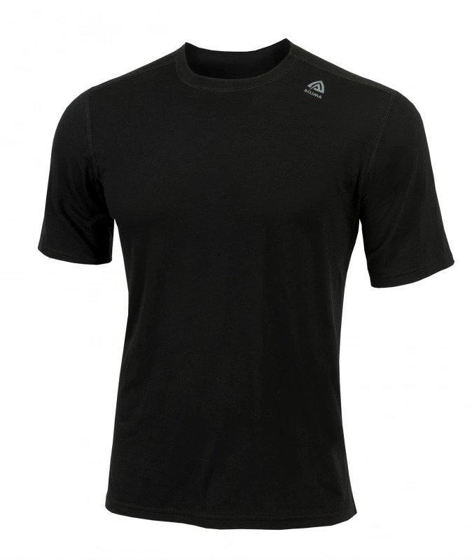 Aclima LightWool Classic T-shirt Man Jet Black
