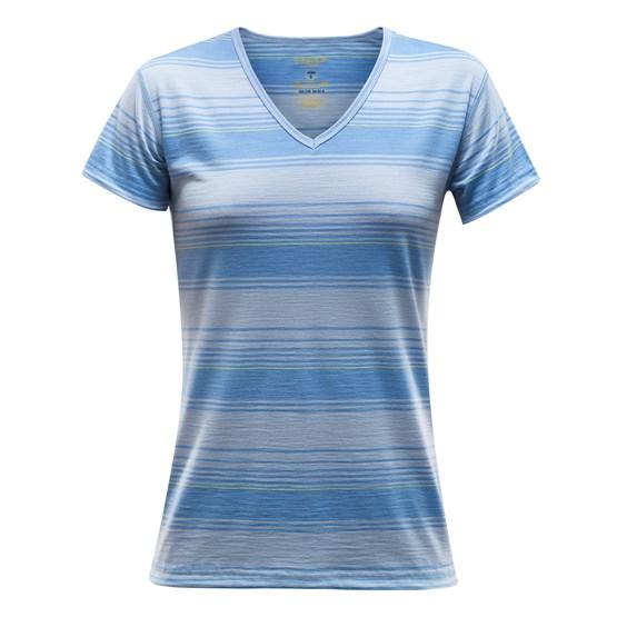 Devold Breeze Woman T-Shirt V-Neck
