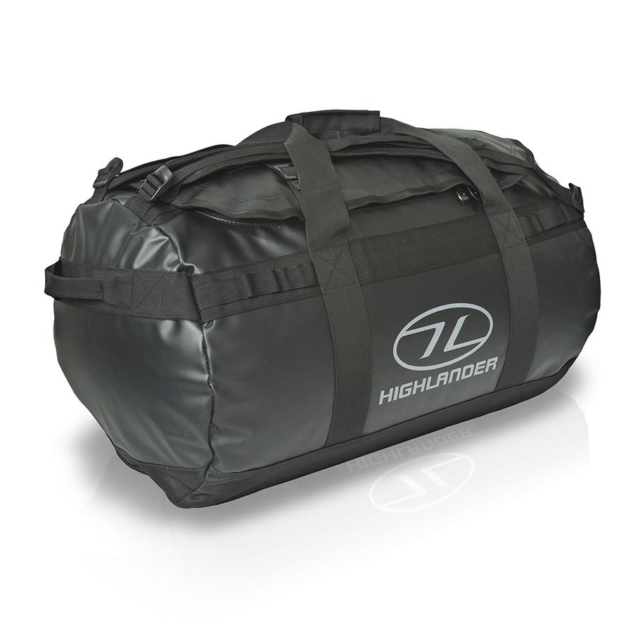 Highlander Duffle Bag Lomond 65L černý