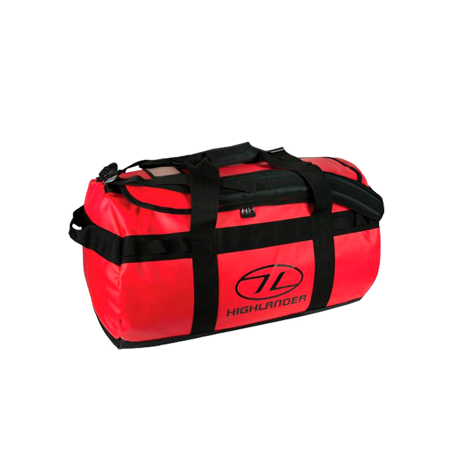 Highlander Duffle Bag Lomond 65L červený
