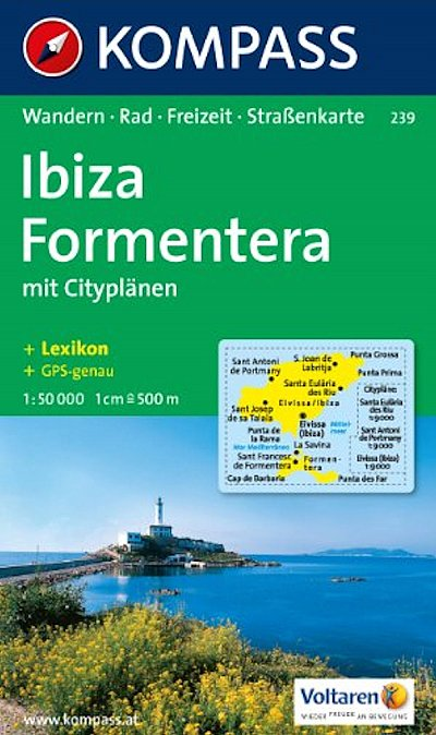 Ibiza & Formentera K239 1:50 000