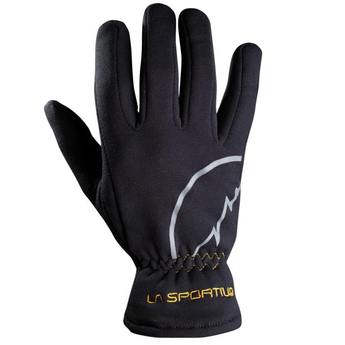 La Sportiva Stretch Glove black/yellow