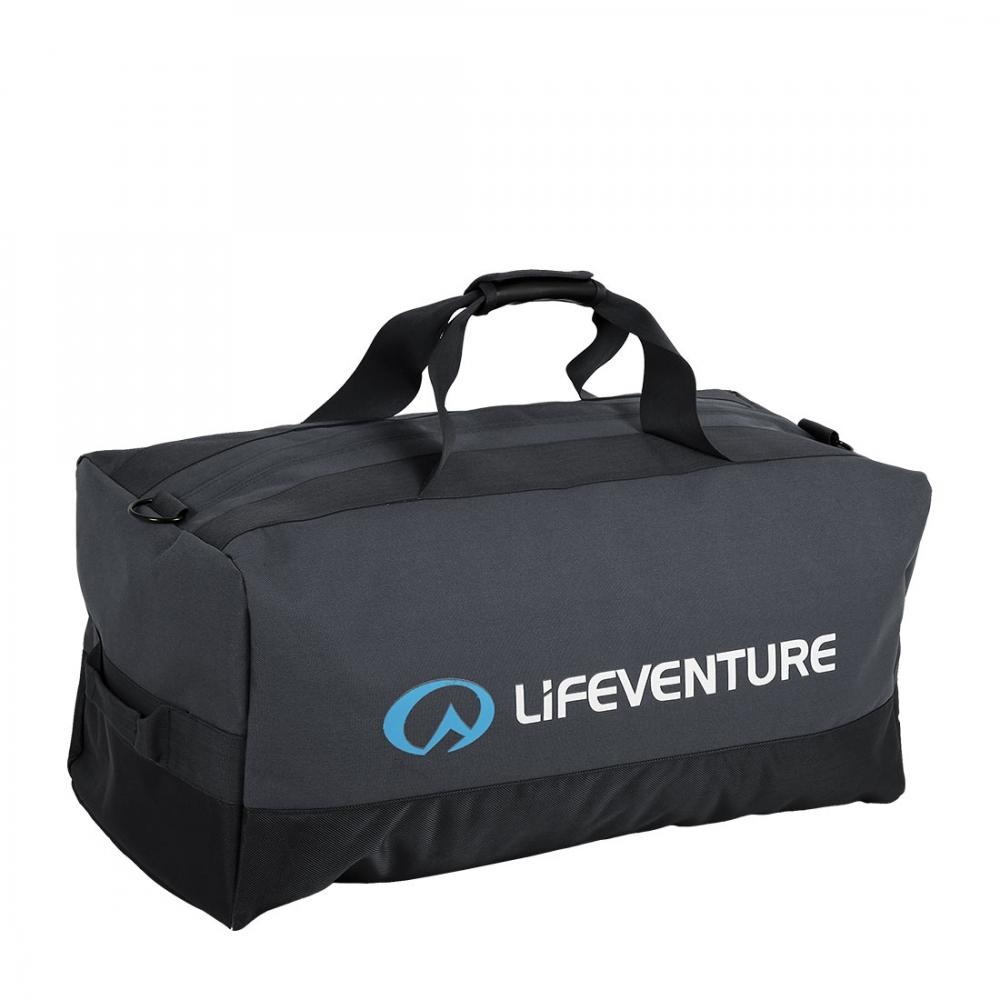 Lifeventure Expedition Duffle Black