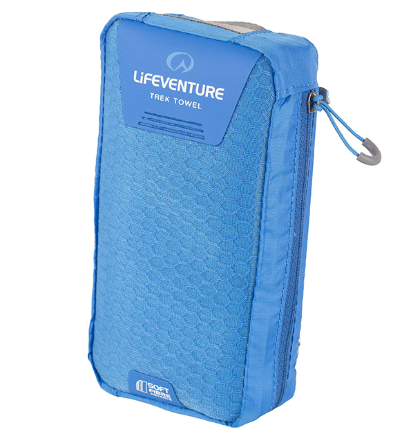 Lifeventure SoftFibre Trek Towel Blue