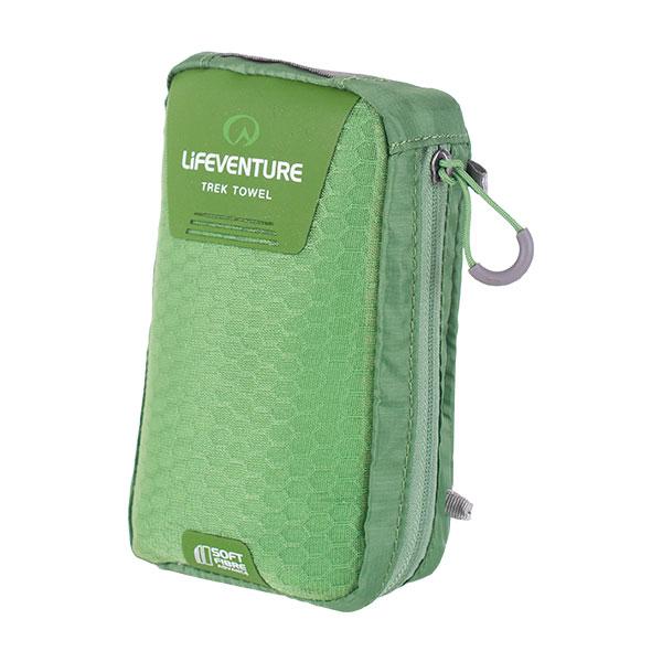 Lifeventure SoftFibre Trek Towel Green