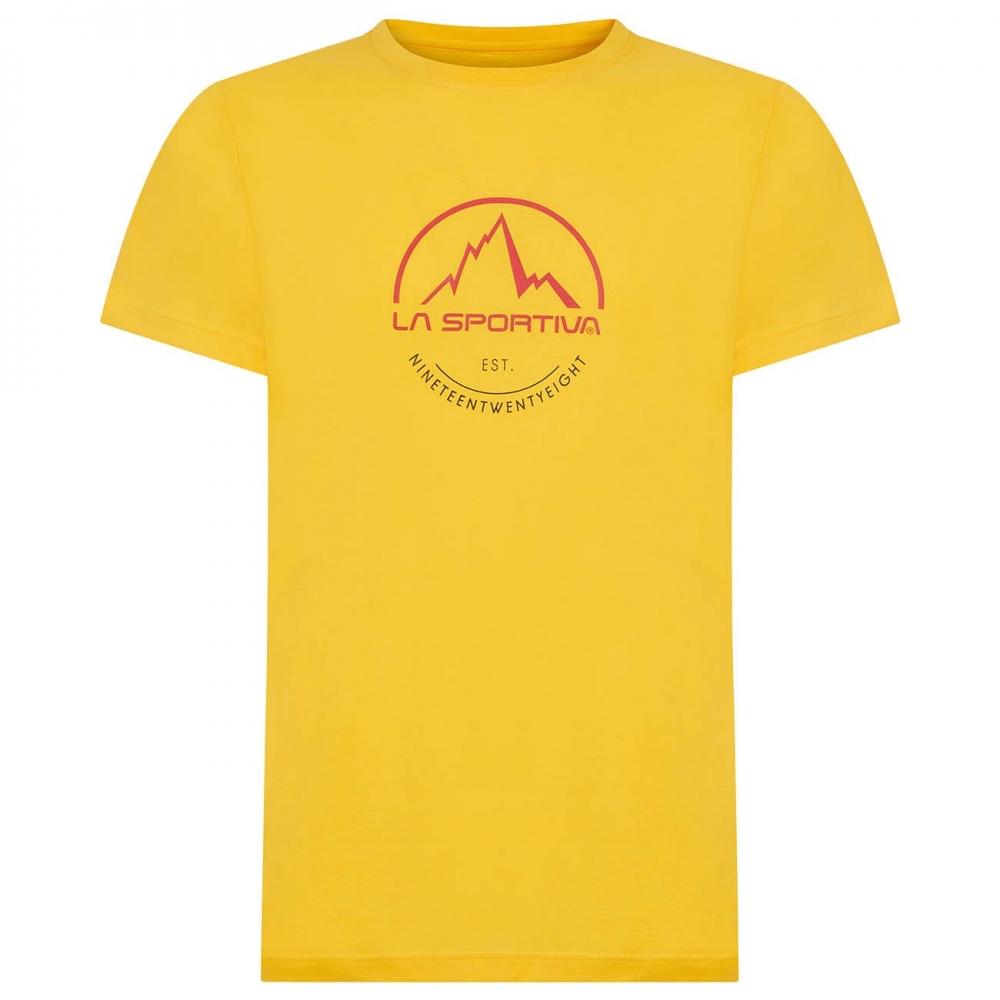 La Sportiva Logo Tee Men yellow