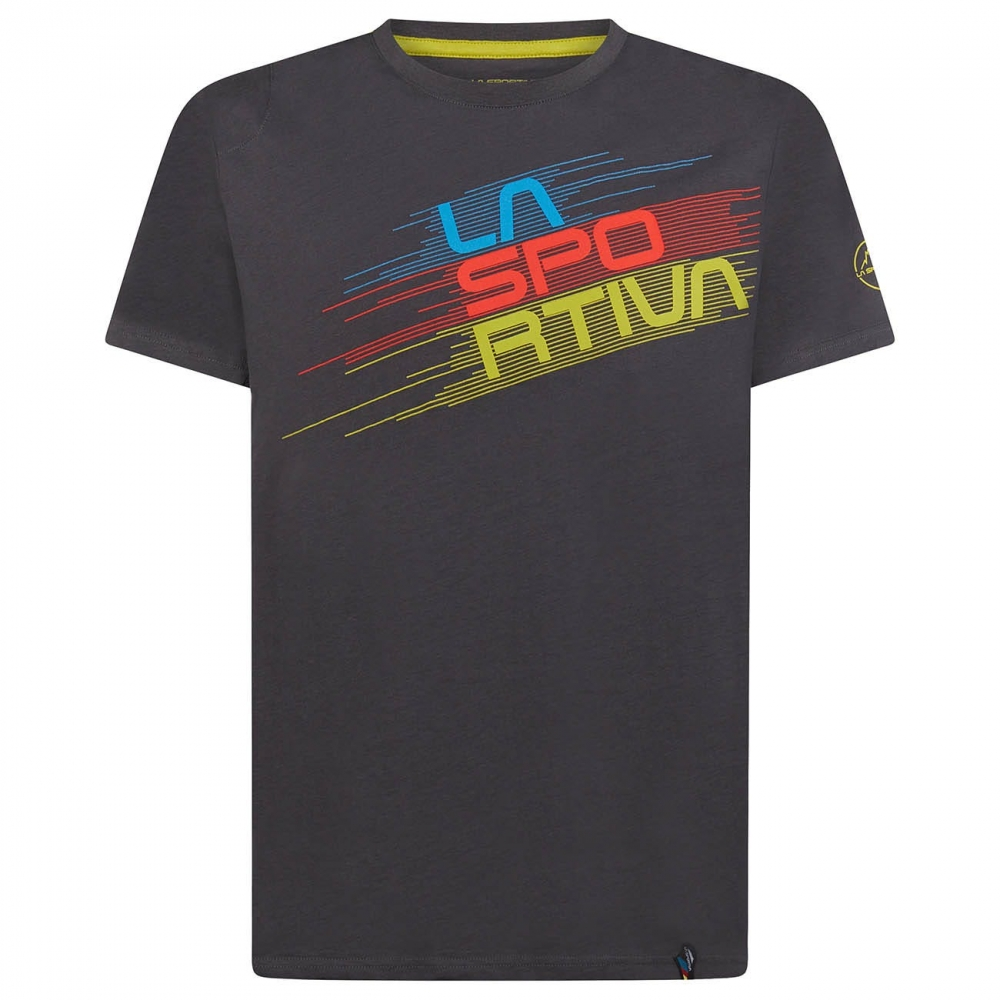 La Sportiva Stripe Evo T-Shirt Men Carbon