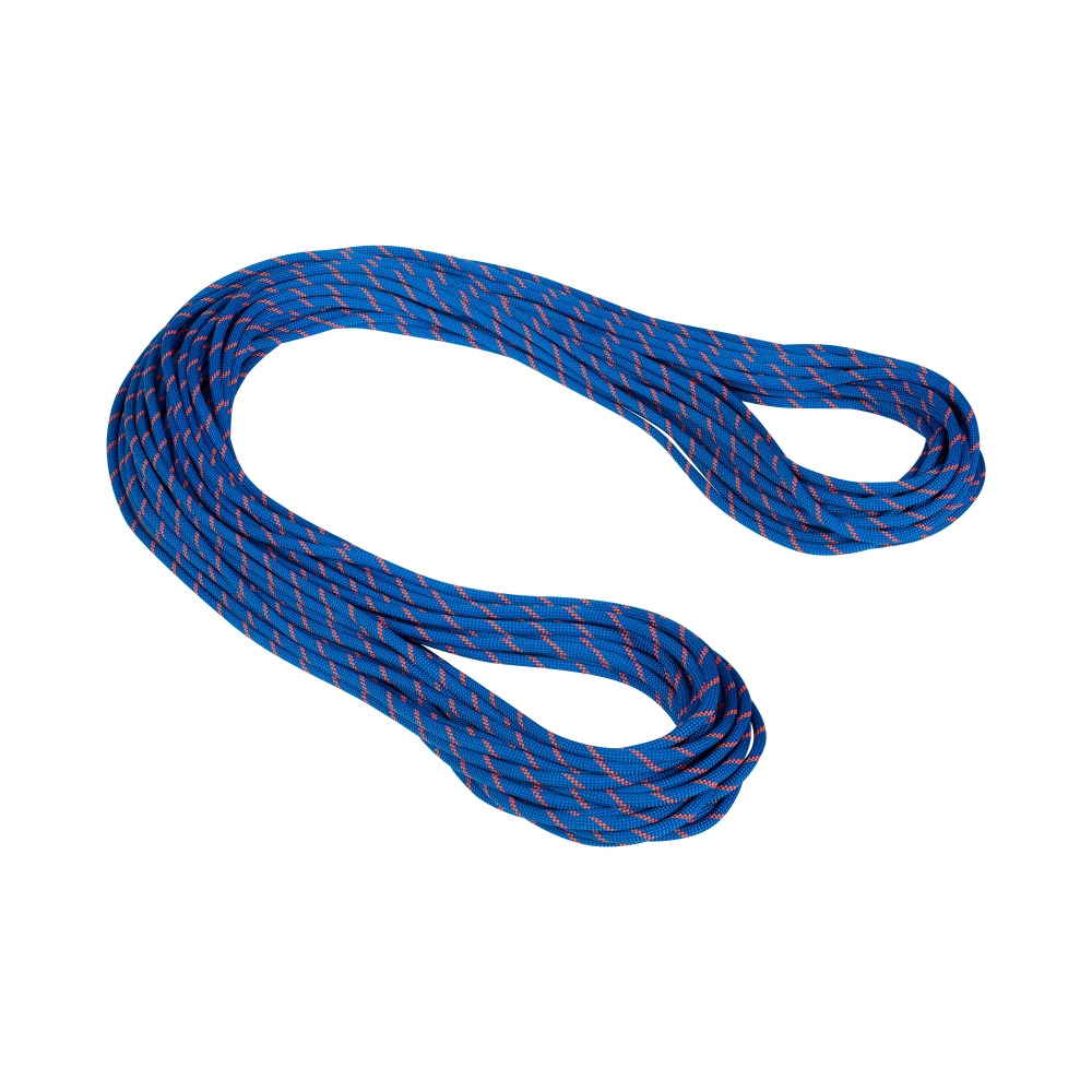 Mammut 7.5 Alpine Sender Dry Rope Blue-Safety Orange