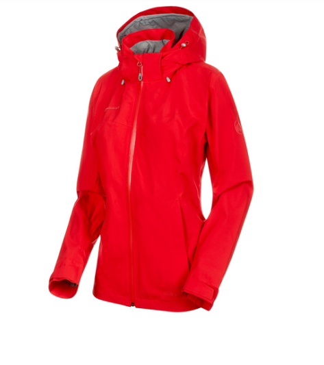 Mammut Ayako Tour HS Hooded Jacket Women (ruby)