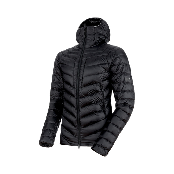 Mammut Broad Peak In Hooded Jacket Men (black-phantom)  L