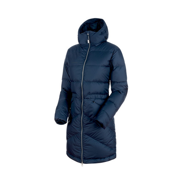 Mammut Fedoz In Hooded Parka Women (marine)| S