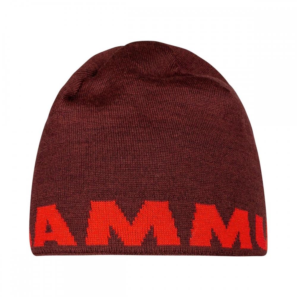 Mammut Logo Beanie magma-merlot