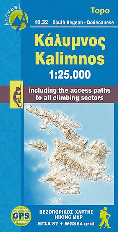 Kalymnos  1:25,000