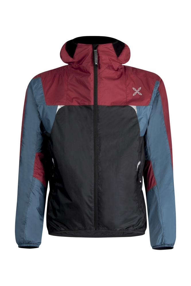 Montura Skisky Jacket BLACK/GERANIUM RED