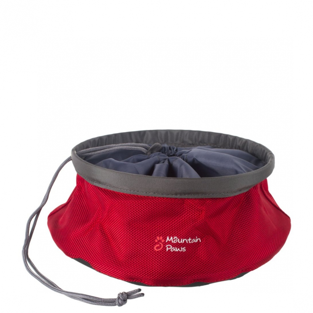 Mountain Paws Dog Food Bowl 210 mm Červená