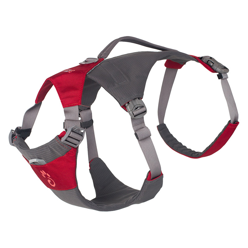 Mountain Paws Dog Hiking Harness Červený| M