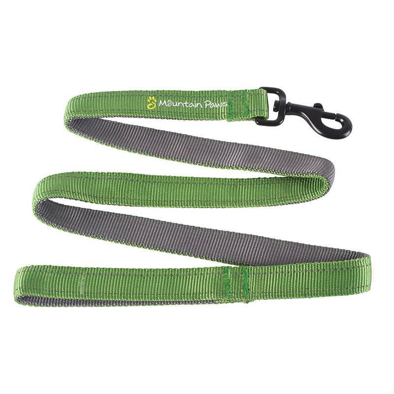 Mountain Paws Dog Lead Green