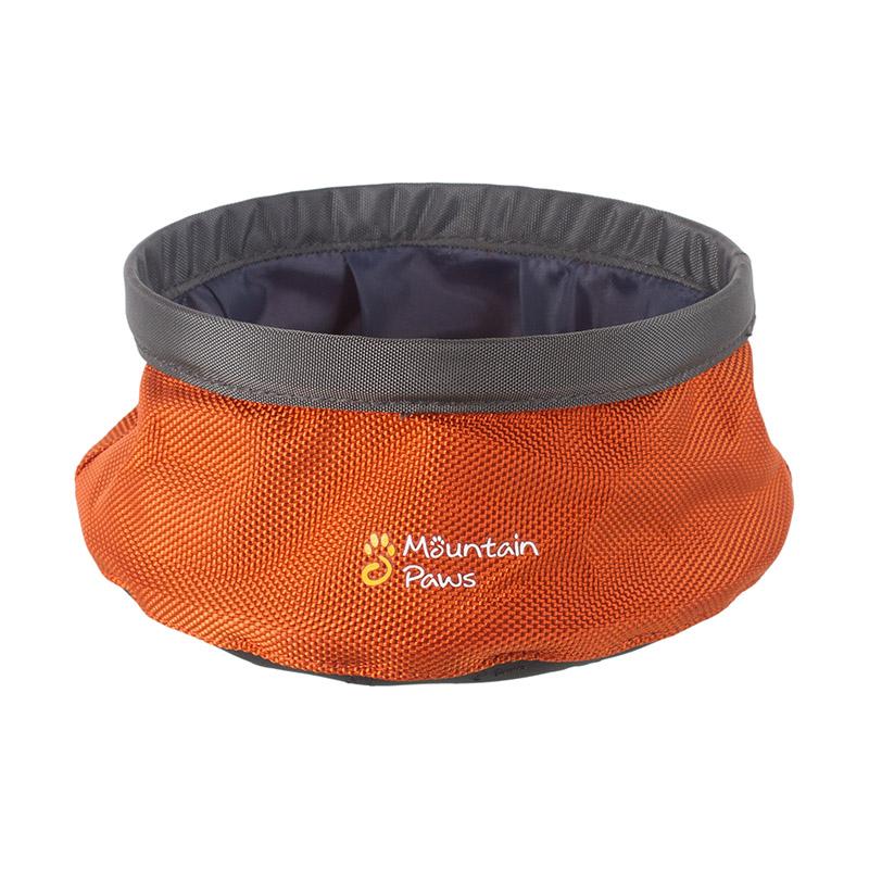 Mountain Paws Dog Water Bowl 170 mm| Oranžová