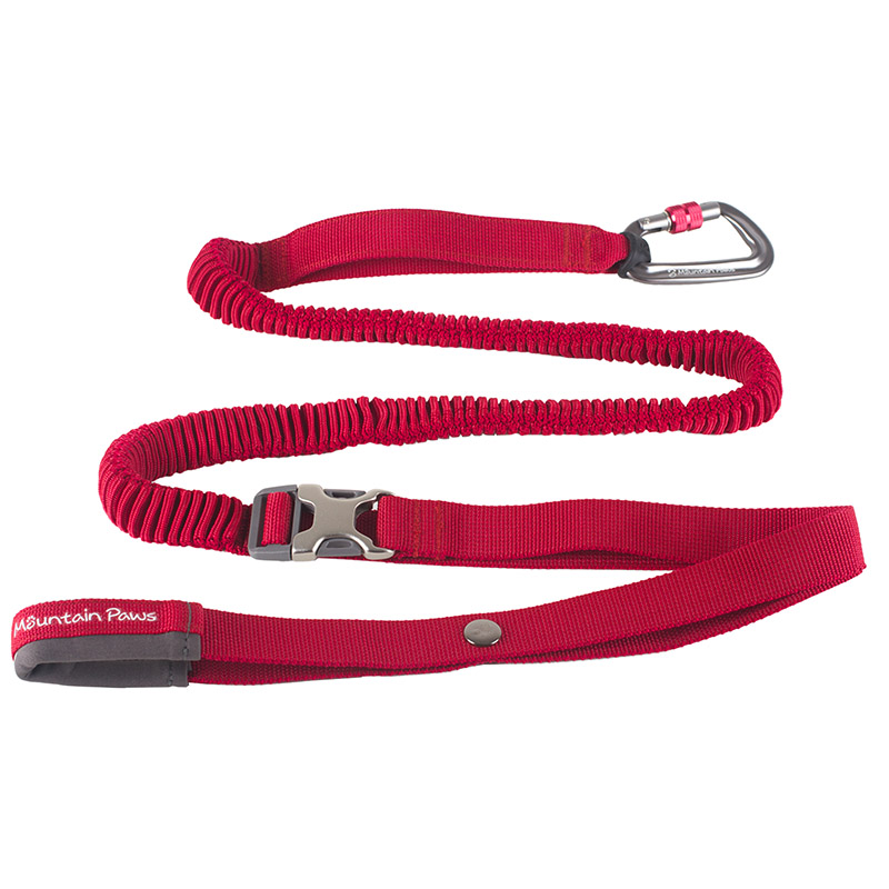Mountain Paws Shock Absorber Dog Lead Red
