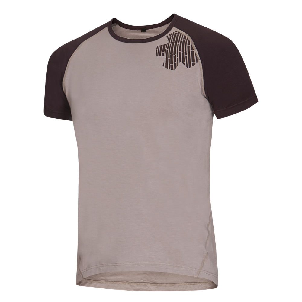 OCUN Bamboo T Blossom Men Simply Taupe