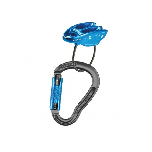 Ocun Belay Set Eagle Triple/Ferry 2019 (blue)