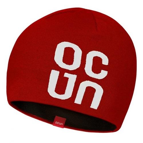 Ocun Logo Hat Red