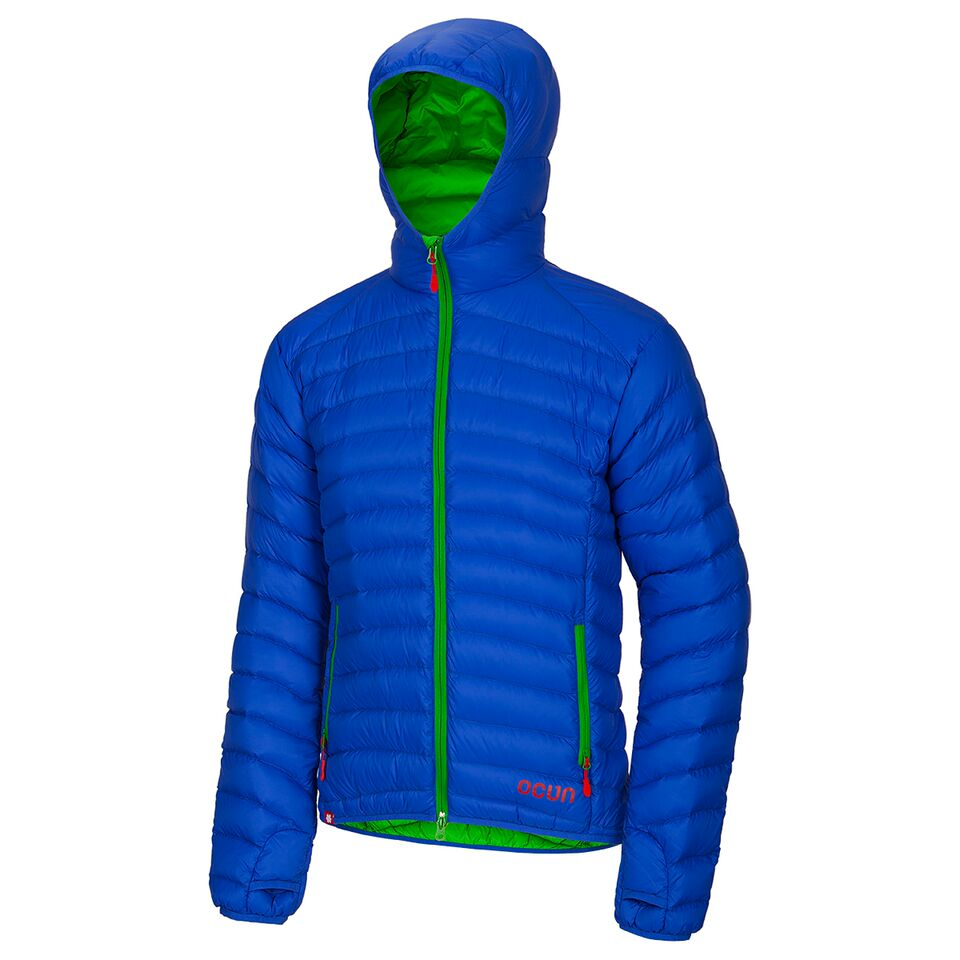 Ocun Tsunami Down Jacket Men blue green