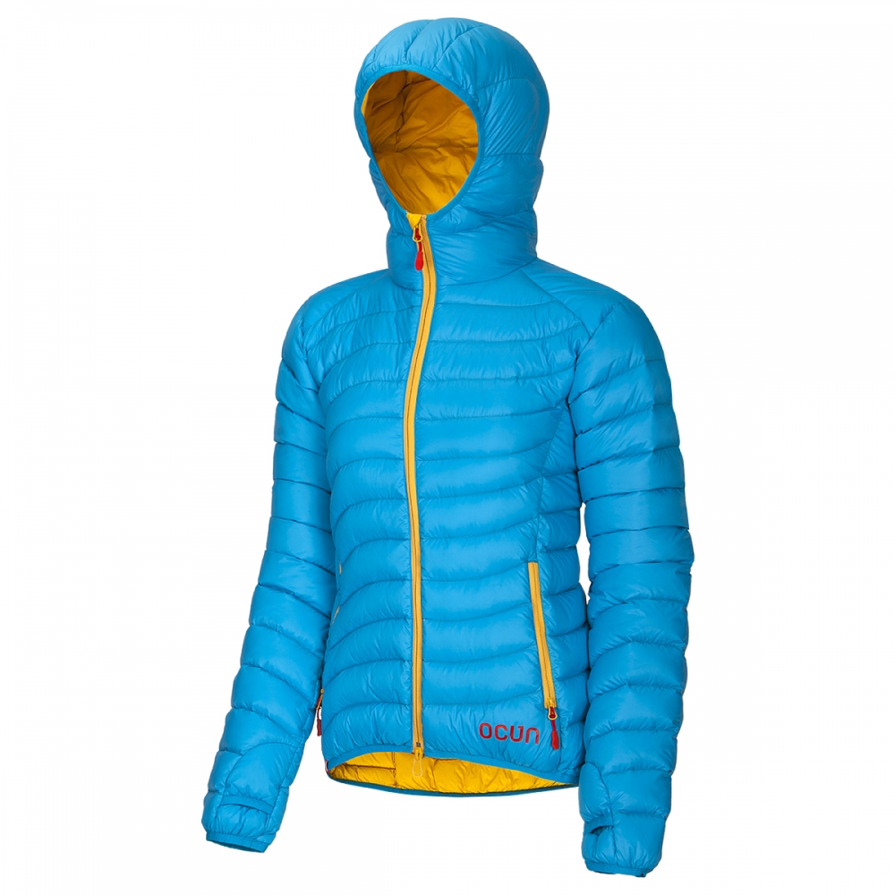 Ocun Tsunami Down Jacket Women blue yellow