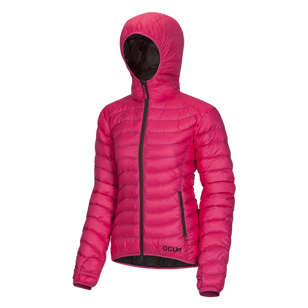 Ocun Tsunami Down Jacket Women pink brown