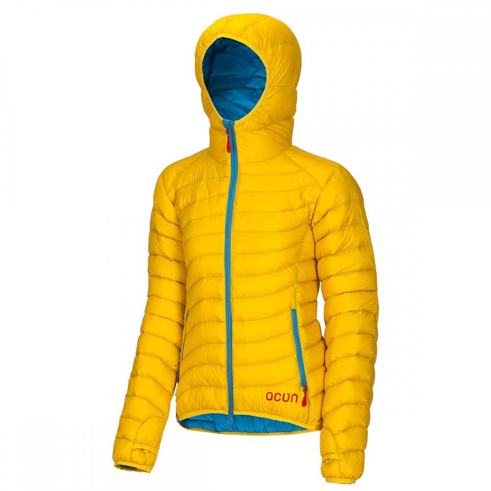 Ocun Tsunami Down Jacket Women  yellow blue