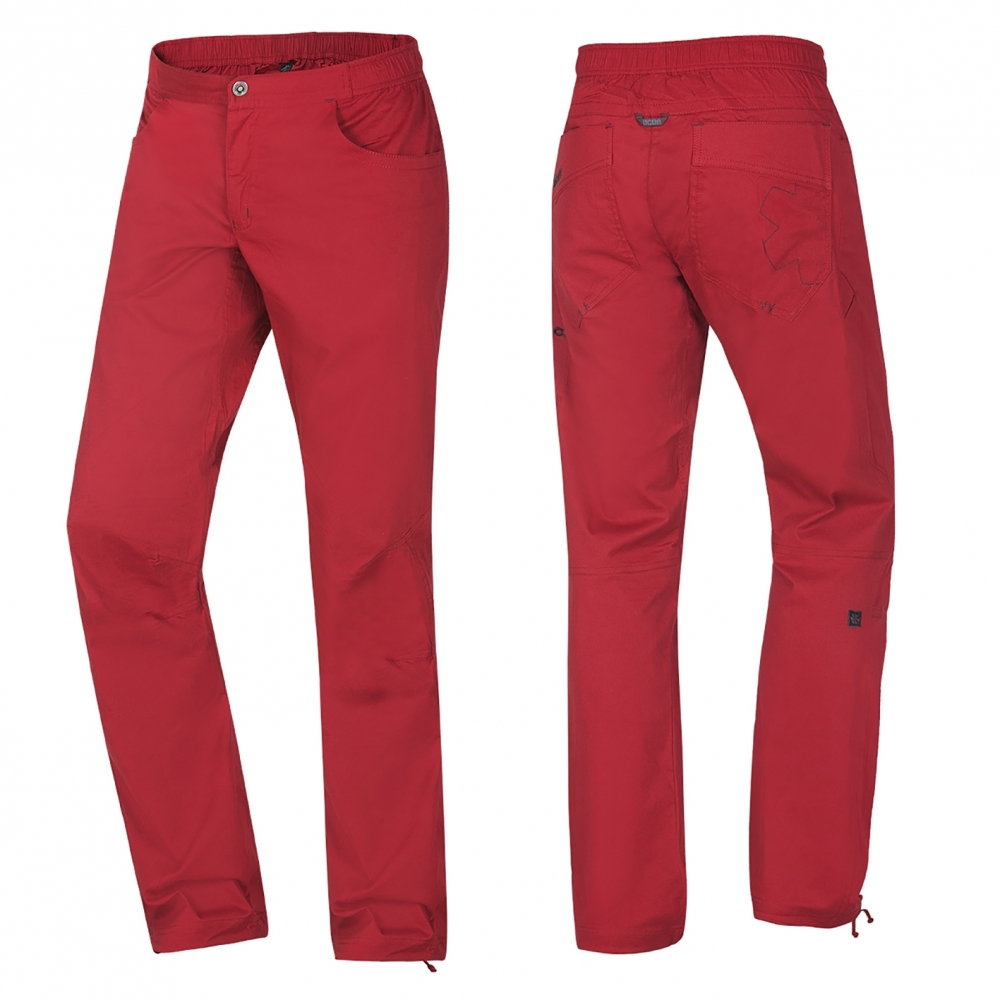 OCUN Drago Pants Men Garnet red